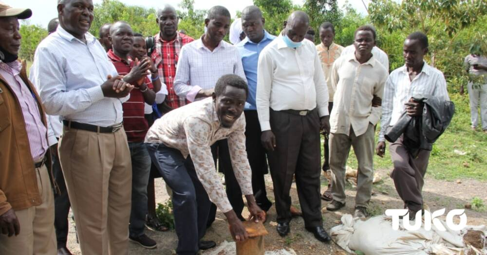 Homa Bay: Well wisher starts KSh 7 million water project to benefit over 4,000 households