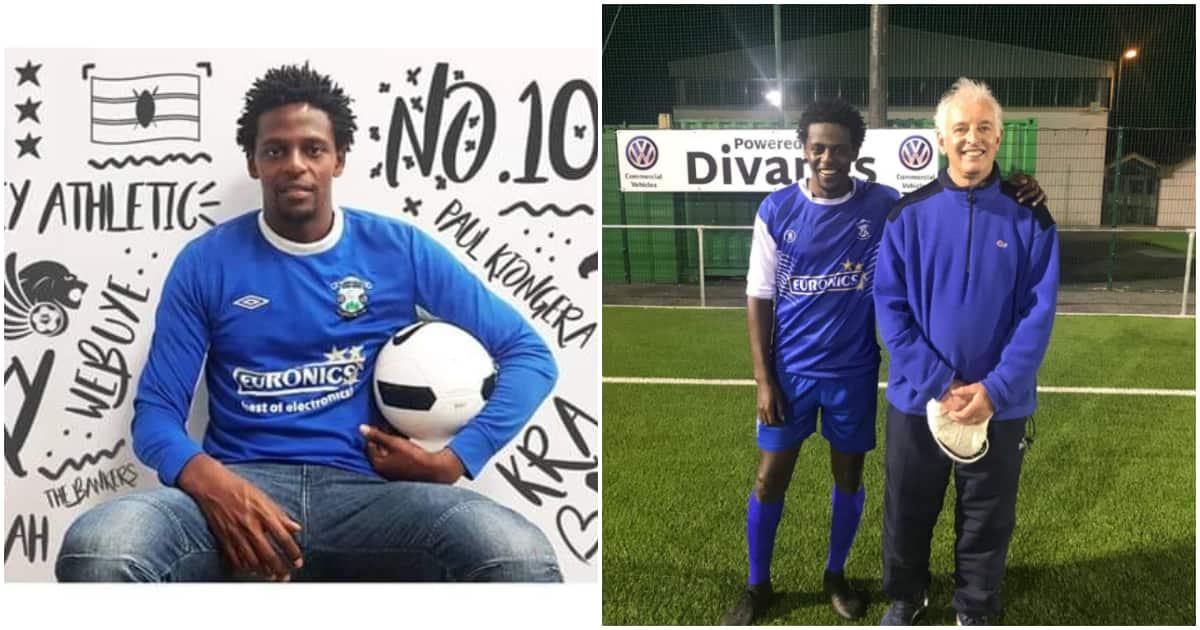 Paul Kiongera: Kenyan striker relishes dream of playing in Ireland after signing for amateur side ▷ Kenya News