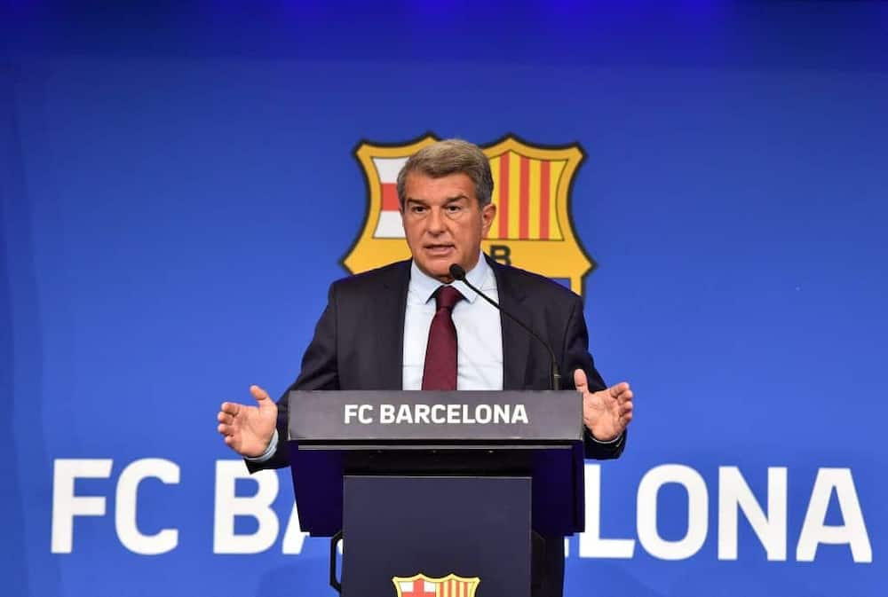 Barcelona president Laporta finally reveals who should be blamed for Lionel Messi's exit