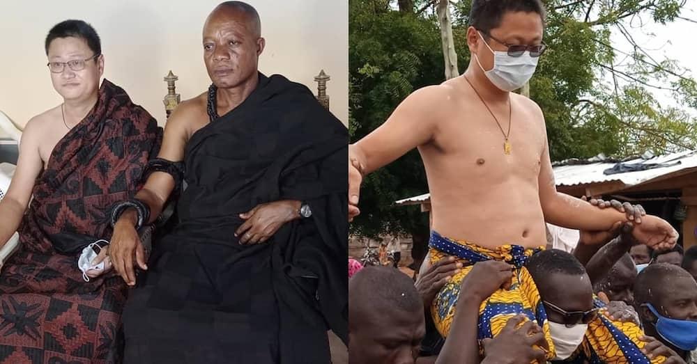 Mwanamume Mchina atawazwa chifu wa maendeleo nchini Ghana