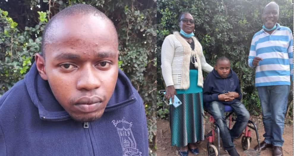 Machakos: Family, Friends Celebrate Physically Challenged Student Who Scored A- in 2020 KCSE