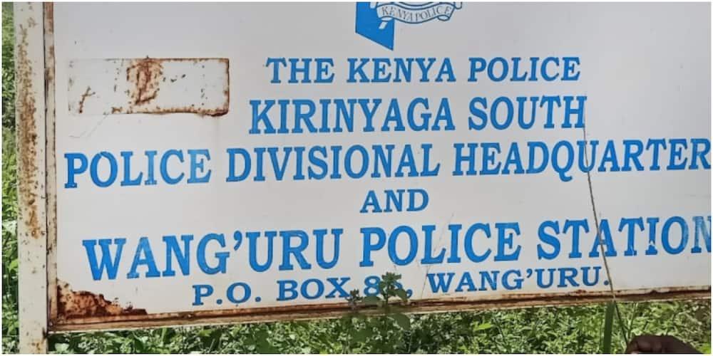Kirinyaga County Police Commander Leah Kithei said the two were among five detainees who had been rushed to Kimbimbi sub-county hospital. Photo: PD