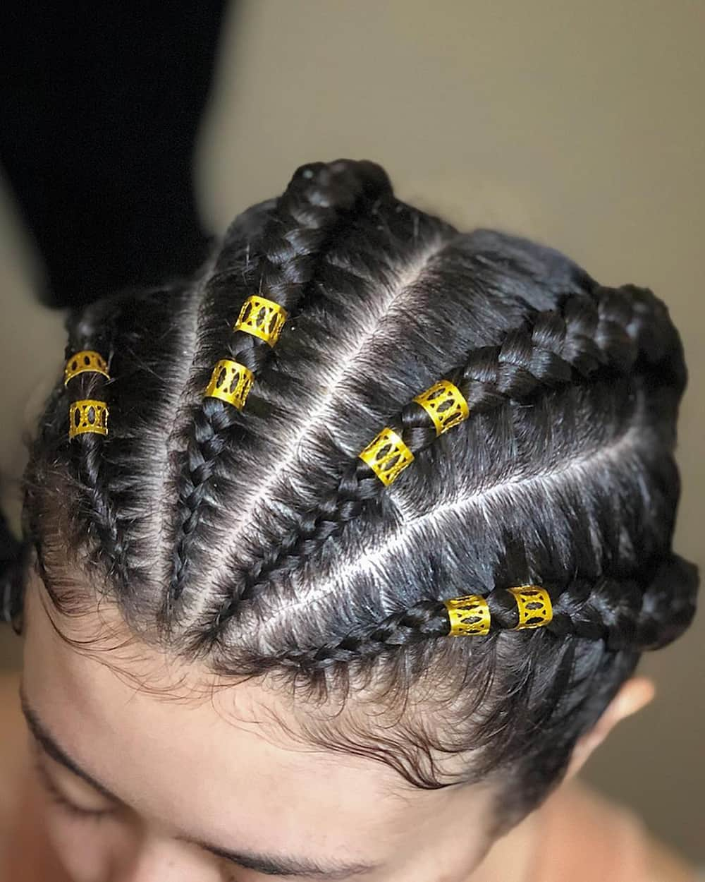 different types of cornrows