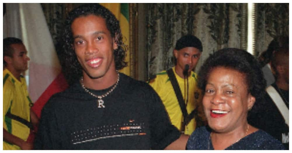 Ronaldinho remembers late mom with touching post on social media