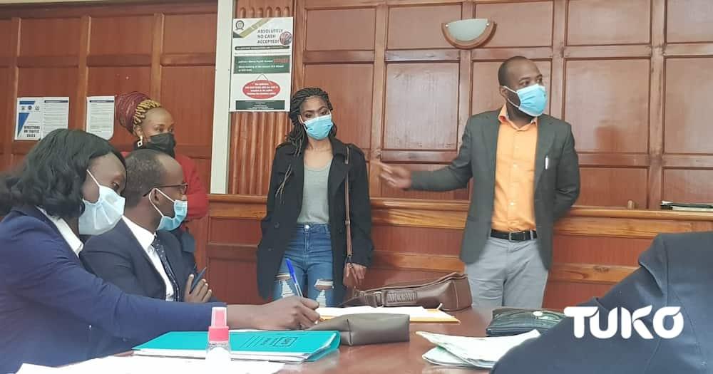 Lucy Wanjiru allegedly attacked Narasha at Nairobi's Upper Hill.