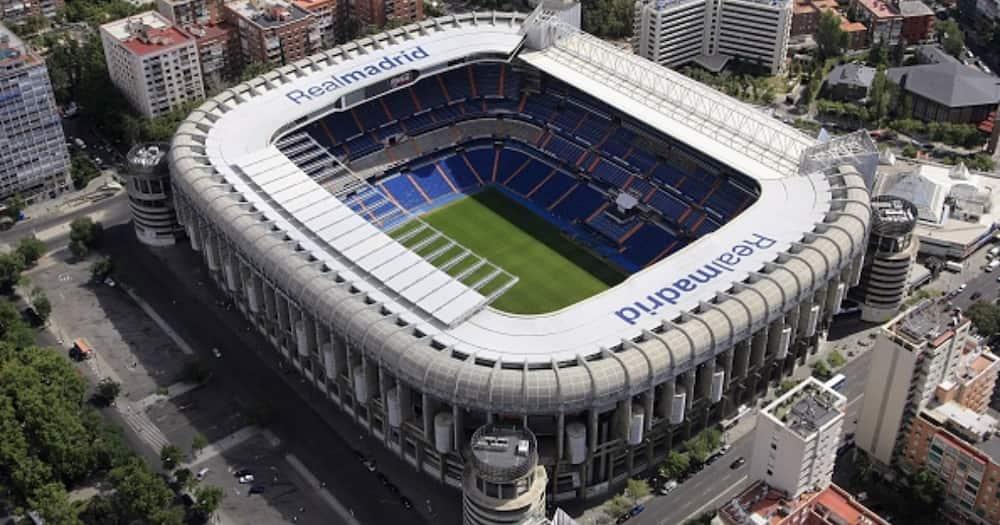 Santiago Bernabeu: Panic As Real Madrid's Stadium Catches Fire