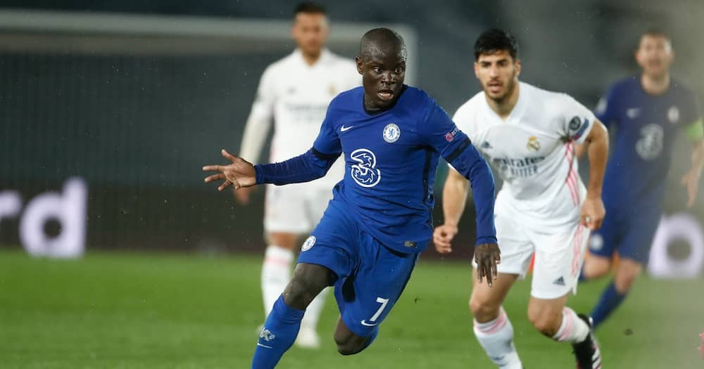 Cesc Fabregas Joins Fans in Hailing Ngolo Kante for Masterful Midfield Performance against Real Madrid