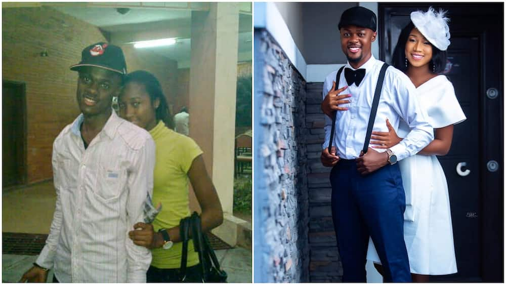 Couple 'recreate' throwback photo, their new picture wows many on Twitter