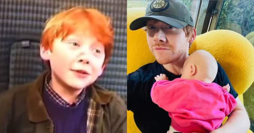 Harry Potter actor. Rupert Grint.