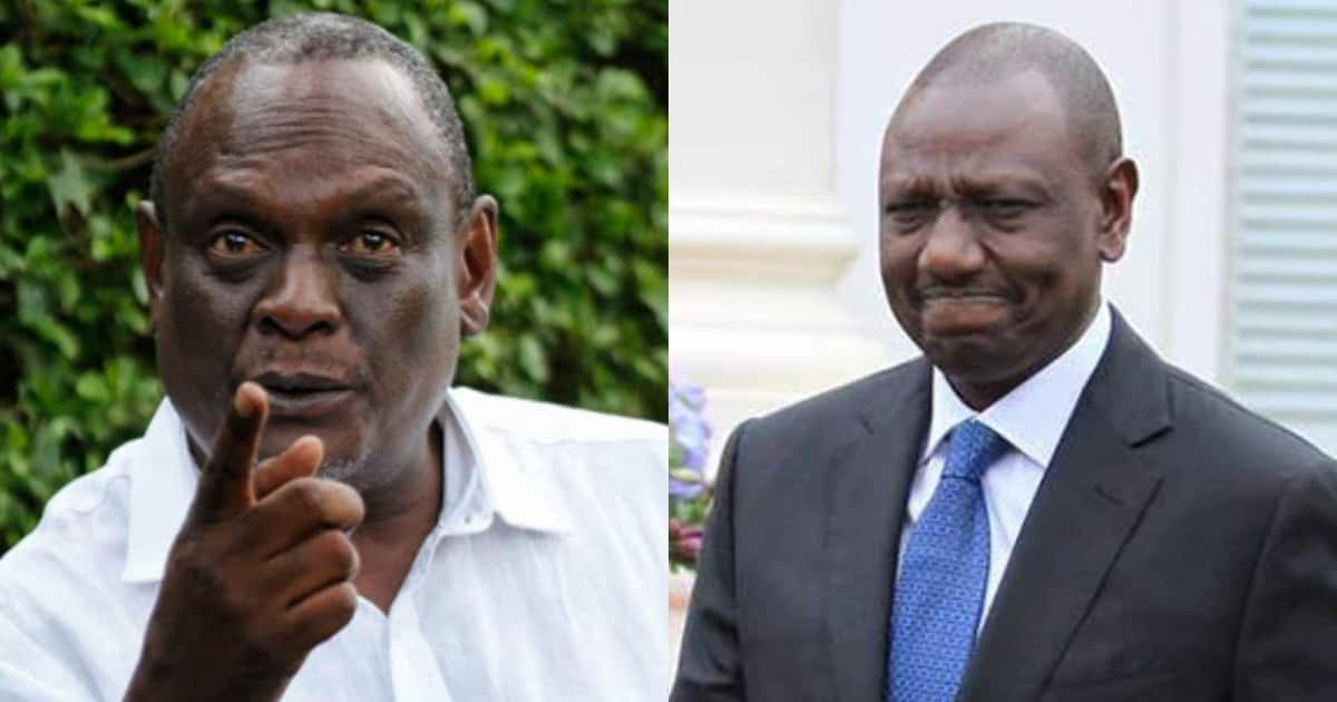 We are finished if Ruto becomes president - David Murathe