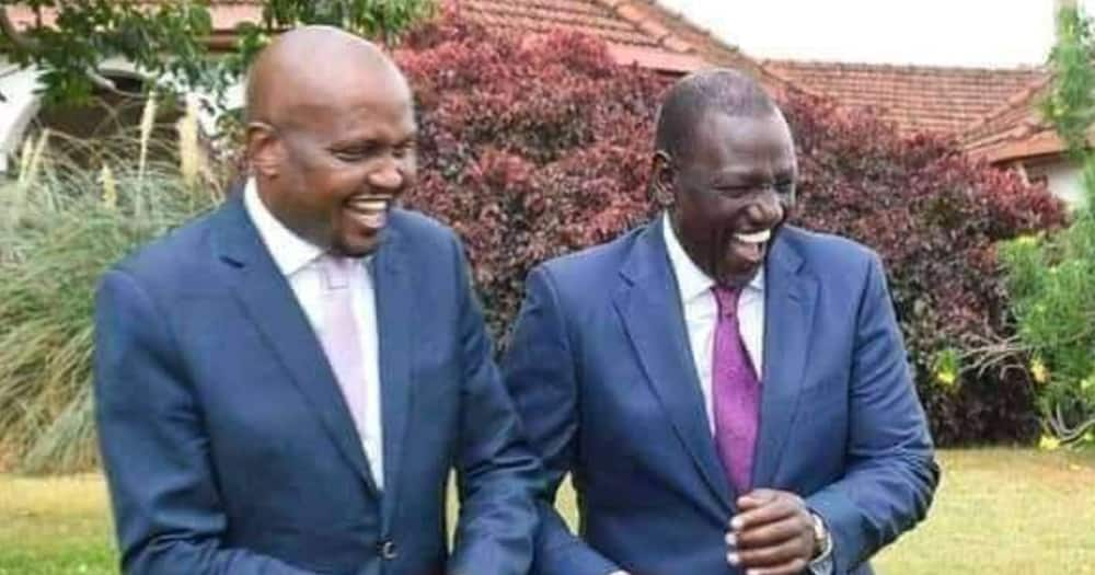 Moses Kuria did not attend the Thursday, August 5, UDA meeting at Ruot's home.