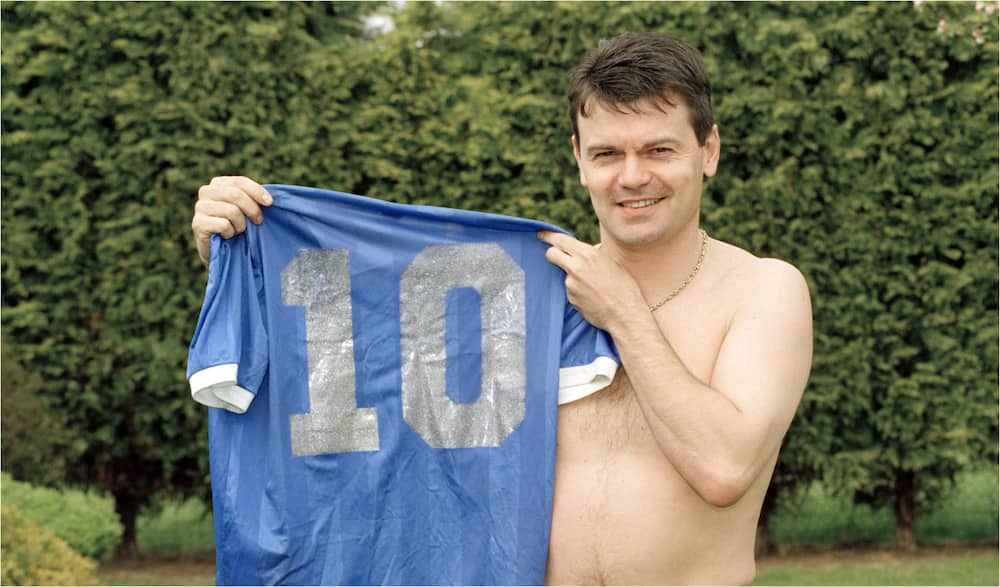 Retired player who swapped shirts with Maradona in 1986 denies rumors he is selling legend's kit for KSh 264 million