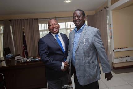 Mike Sonko fails to name deputy governor, cites request from Raila Odinga