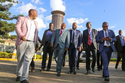 Second term governors meet in Nairobi, plot 2022 game plan