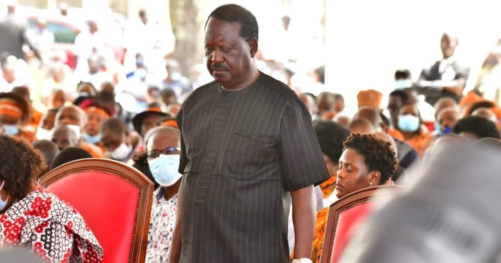 Raila akanusha wageni kutoka Mt Kenya walimwahidi kura za 2022