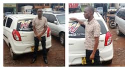 Dereva wa taxi amiminiwa sifa kwa kuzalisha mama ndani ya gari lake Eldoret