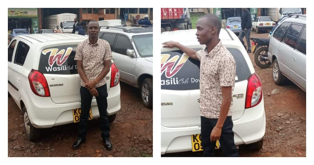 Eldoret: Taxi driver earns accolades for helping expectant woman deliver in car