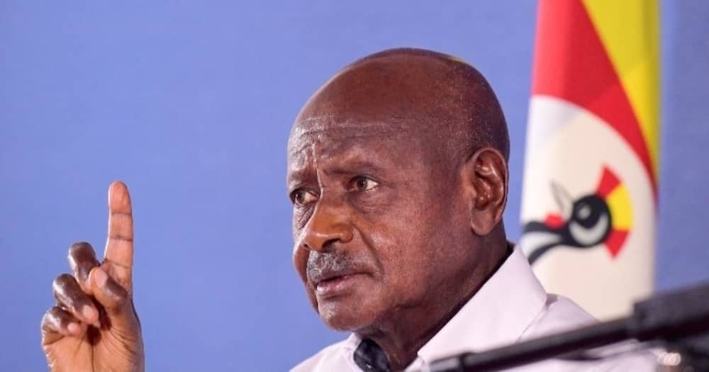 The reports claimed Museveni had developed breathing difficulties. Photo: Yoweri Museveni.