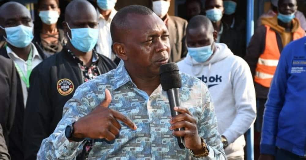 Oscar Sudi speaks in fluent English while advising Matiang'i on Kapedo clashes