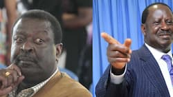 "Musalia Mudavadi Rubbishes Raila's Pledge of KSh 6k Monthly Stipend to Kenyan Youths: ""Unrealistic"""
