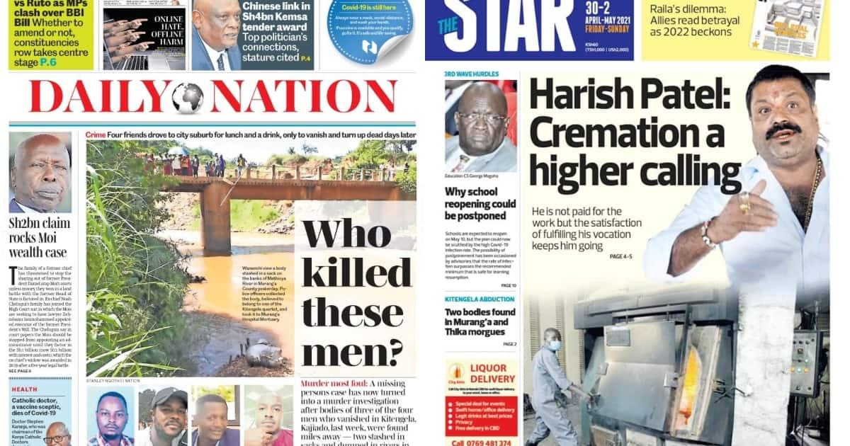 Magazeti Ijumaa: Shule Huenda Hazitafunguliwa, Wanafunzi Kuendelea Kukaa Nyumbani ▷ Kenya News