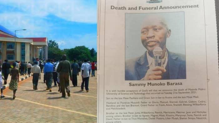 Masinde Muliro University Is not Dead, Institute Says after Erroneous Obituary Ad
