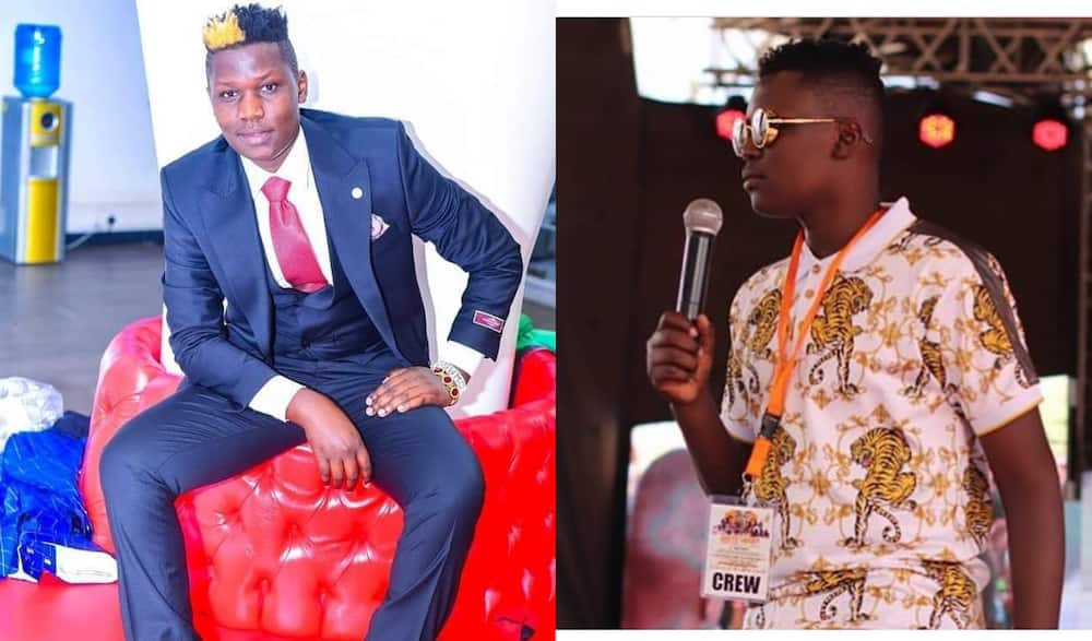 Owago cautions comedians against blaming Churchill for their problems.