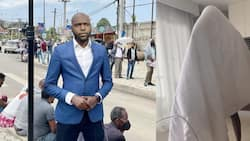 Larry Madowo Shows Hardships He Goes Through while Recording Audio for CNN in Hilarious Clip