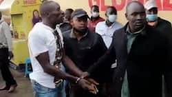 Eldoret: Man Wrestles Police Officers after Failed Attempt to Rob Woman from Bank