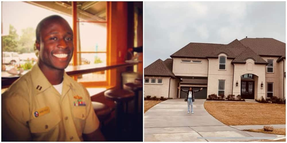Joy as family who left Nigeria with no money years ago acquire first house in the US, share photo