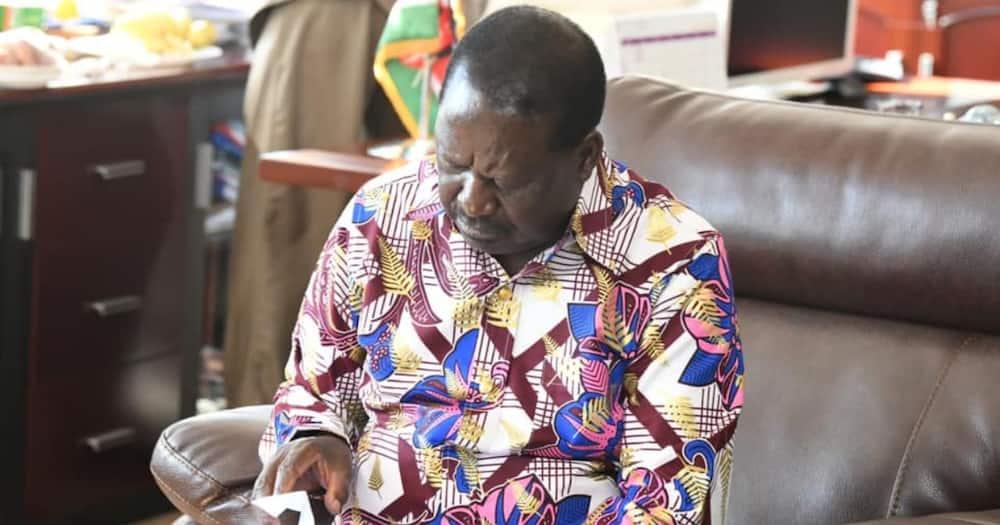 Raila Odinga says he's ready to take COVID-19 vaccine in public