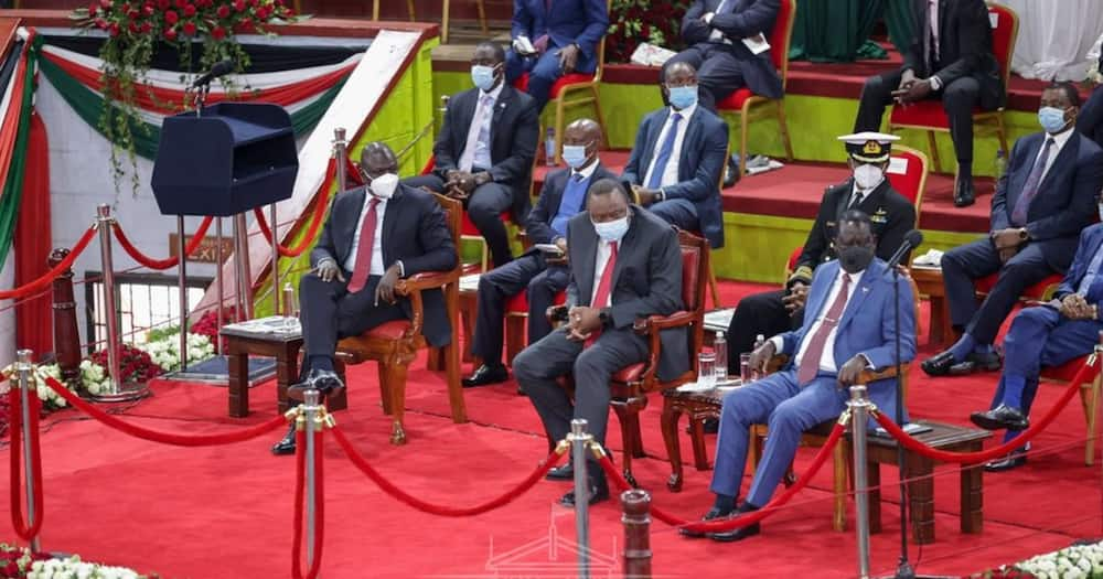 Woman cracks up Uhuru after proposing William Ruto as best man in wedding with second wife