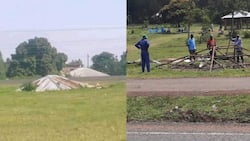 Iconic Roof Along Kisumu-Busia Highway Removed ahead of Owner's Burial, 7 Years after Death