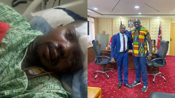 David Osiany Overjoyed after Cop He Rescued from Accident Scene Returns to Thank Him