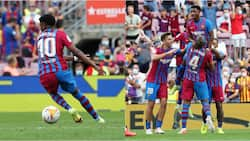Barcelona's New No.10 Ansu Fati Scores Just Nine Minutes Into Return After 10 Months out Injured