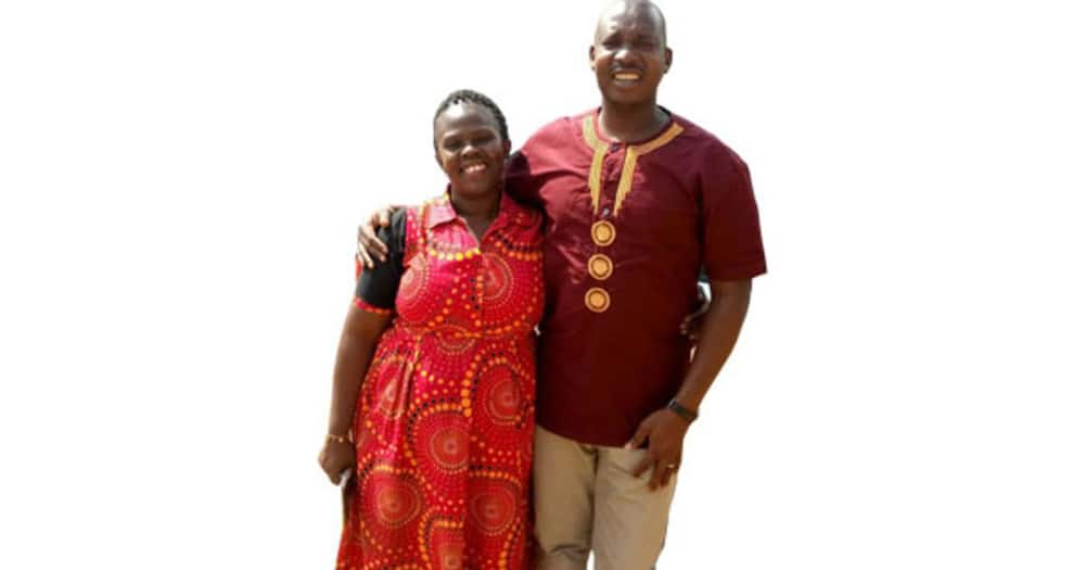Samuel Eyanu and Prossy Akale from Uganda.