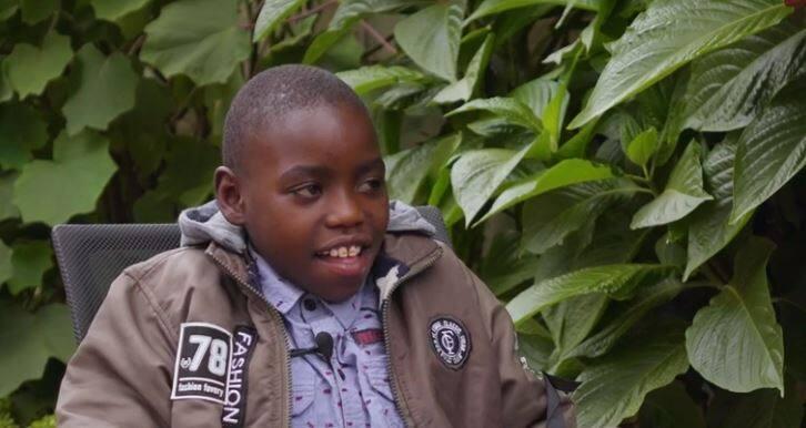 Mvulana Kiambu aliyefukuzwa kwenye sherehe 'birthday' kwa kuwa mchafu atoa wimbo