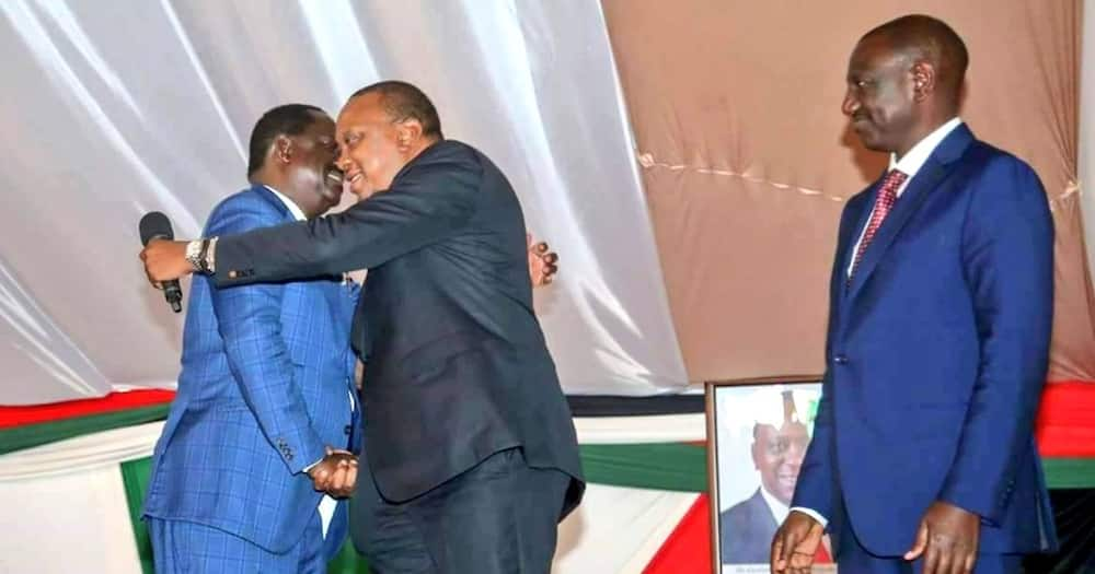 Uhuru could be faced with tough choices ahead as his succession politics take shape. Photo: UGC