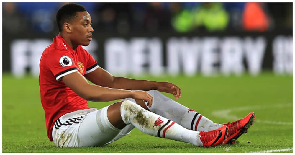 Anthony Martial: Man United forward sent home from training with illness