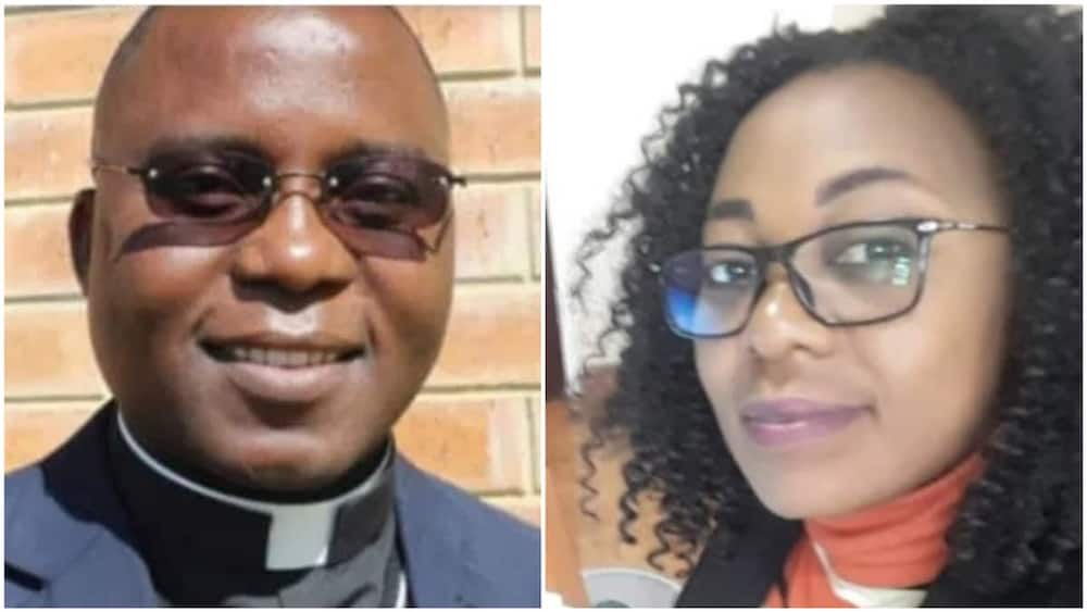 The two are said to be lovers. Photo: Lusaka Times