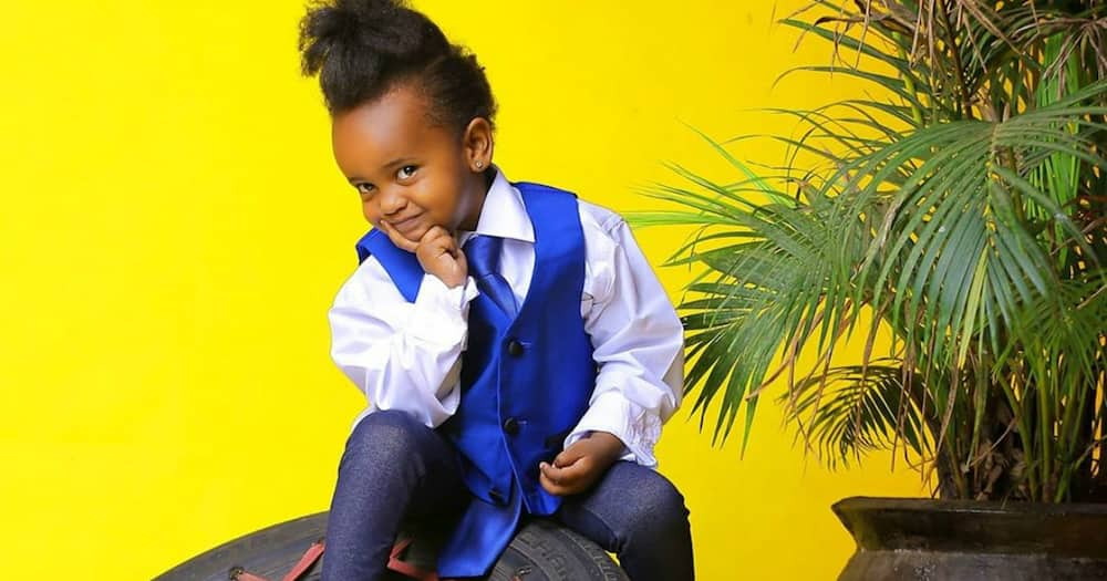She can sing: Pierra Makena shares cute video of daughter singing Jerusalema while deejaying