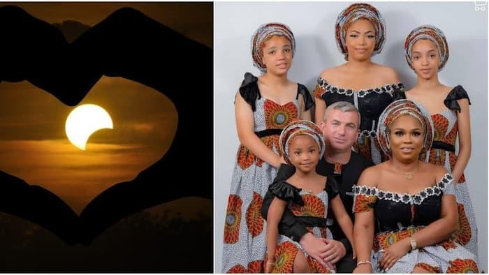 Cute Family Photo of Woman Who Married Mzungu Lights up Internet