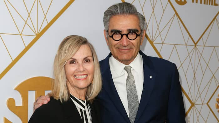 Deborah Divine: What you need to know about Eugene Levy's wife