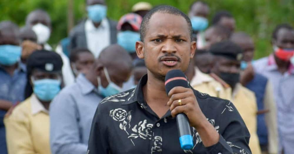 Embakasi East MP Babu Owino. Photo: Babu Owino.