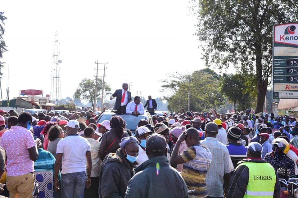 Musalia Mudavadi pulls crowd in Nyeri as he restates intentions to succeed Uhuru