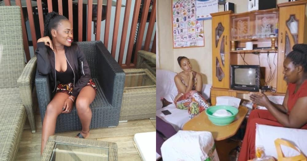 Twenty-year-old lady who left home to live with her boyfriend for 5 months returns home to ask for forgiveness.