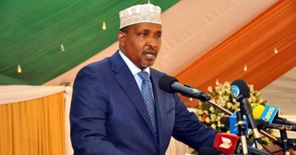Aden Duale said Jubilee was on its way to political oblivion.