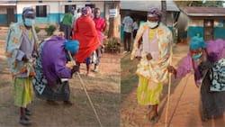 Mbunge Mpya wa Kabuchai Amjengea Nyumba Ajuza Aliyerauka Kumpigia Kura