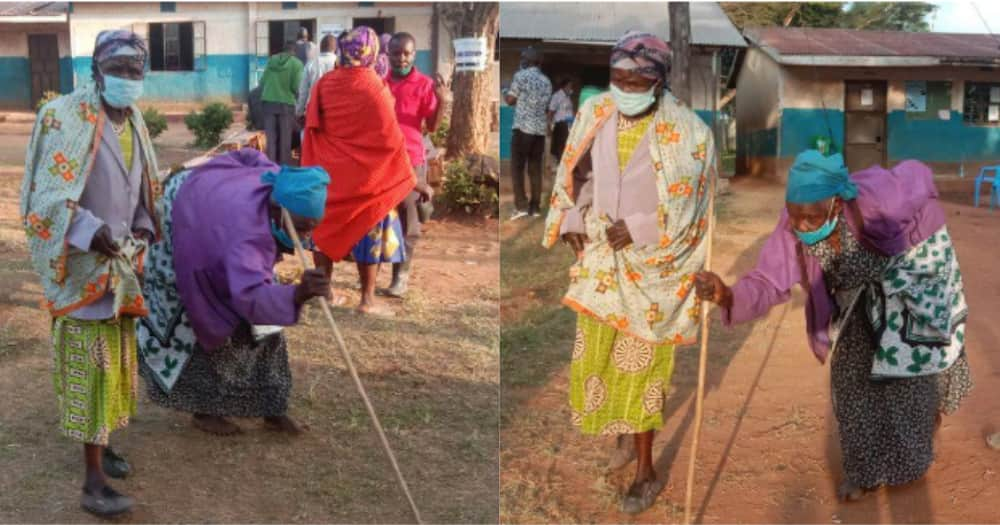 She was gifted a house by area member of parliament Majimbo Kalasinga.