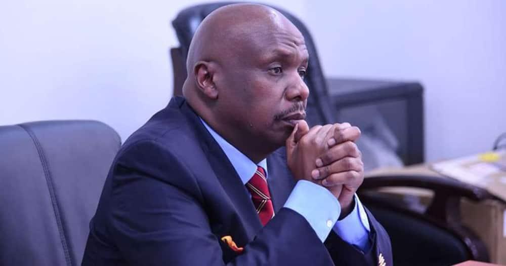 Nick salat says Ruto is working hard, Gideon Moi working smart